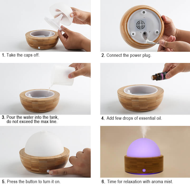 Wholesale-Bamboo-Grain-Essential-Oil-Aroma-Diffuser-X137-Instructions