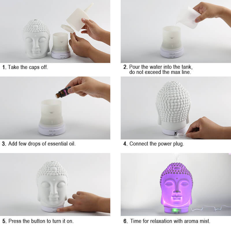 Wholesale-Buddha-Essential-Oil-Aroma-Diffuser-X117A-Instructions