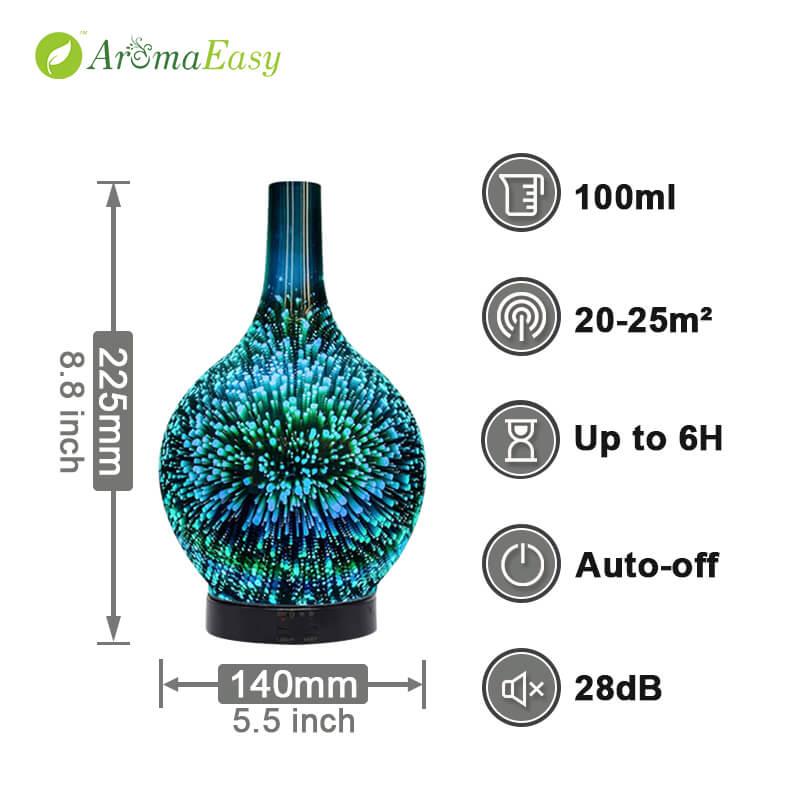 Handizkako-Su artifizialak-Olio Esentziala-Aroma-Difusorea-X117U-Funtzioa