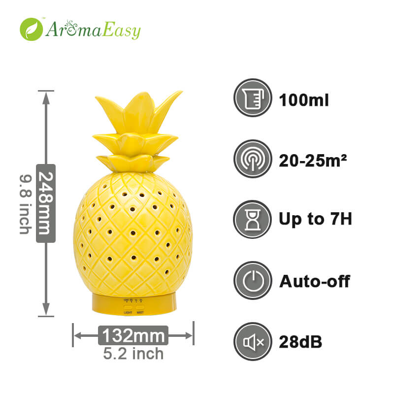 Wholesale-Gold-Pineapple-Essential-Oil-Aroma-Diffuser-X117P-Function