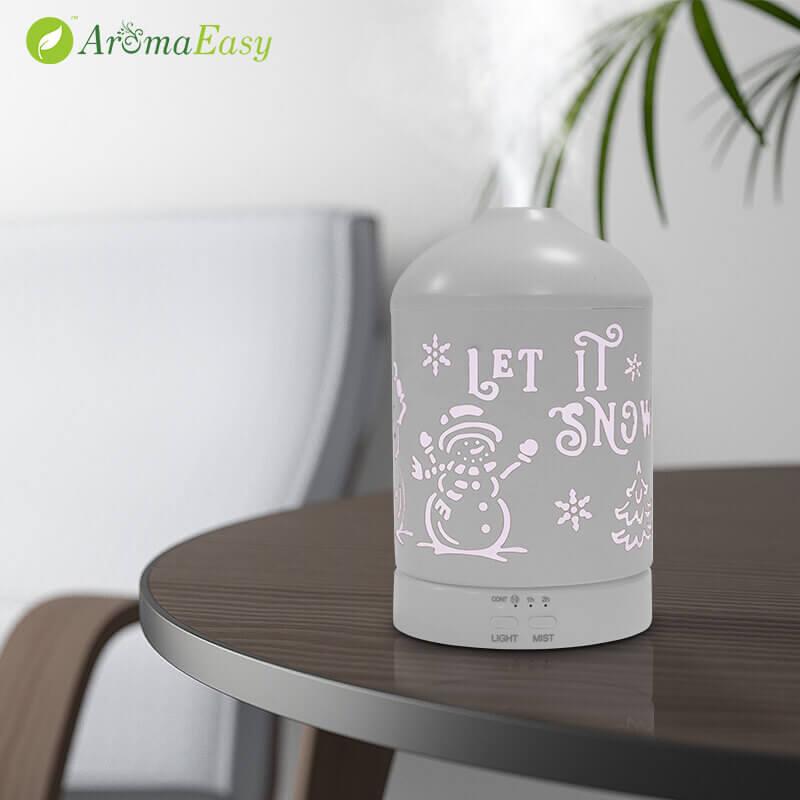 Gruthannel-Snowman-essensjele oalje-Aroma-diffuser-X117G-Mood