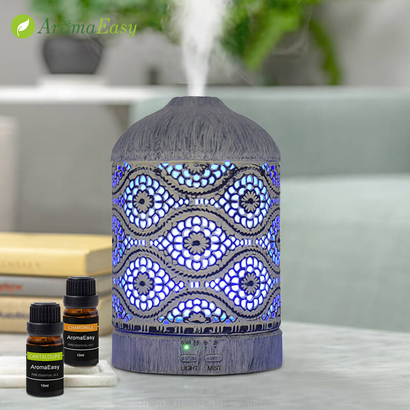Wholesale-Totem-Essential-Oil-Aroma-Diffuser-X117C-Mood Light