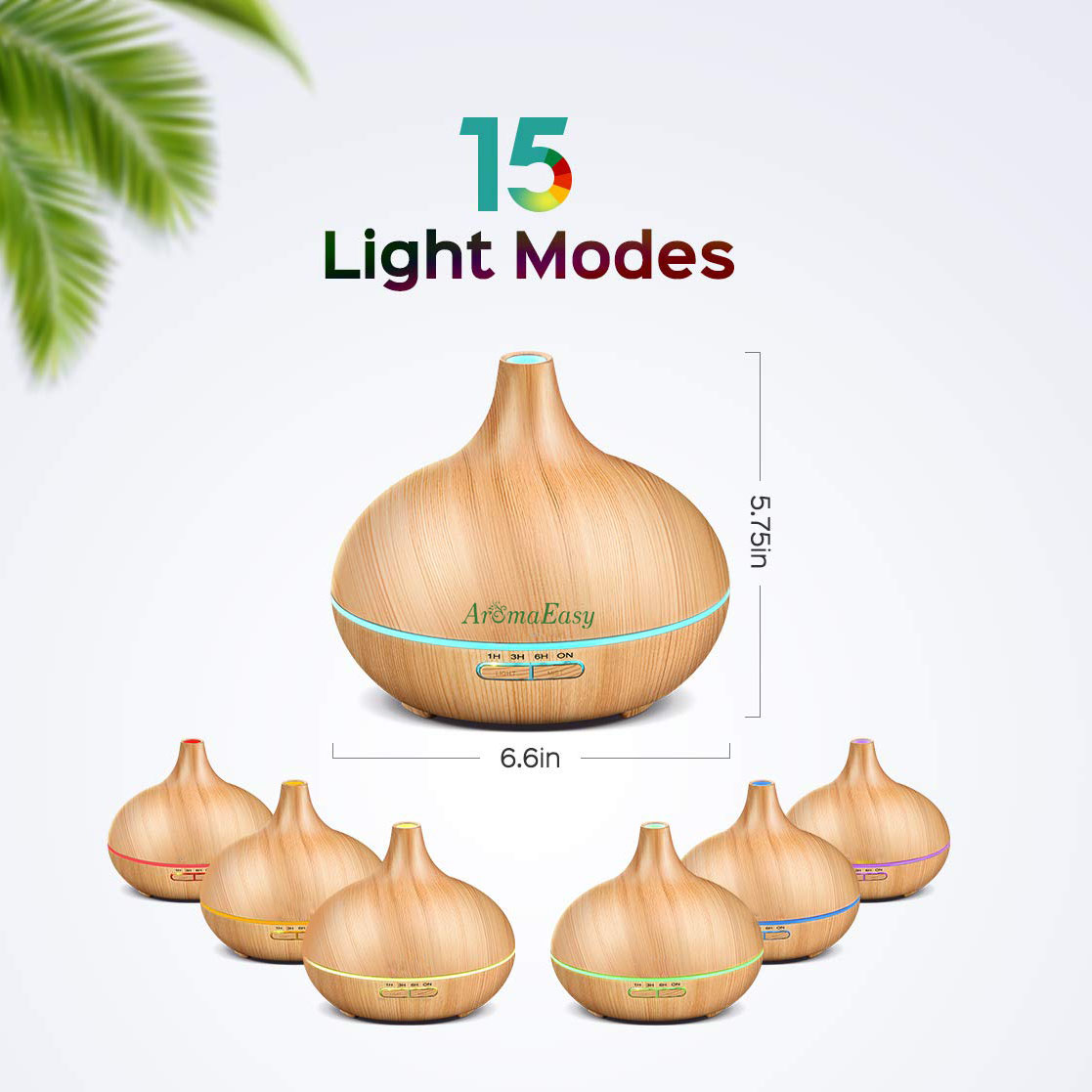Wholesale 300ml Oil Diffuser Cool Mist Humidifier BPA-Free Wood Grain Humidifier Manufacturer in India(X131)