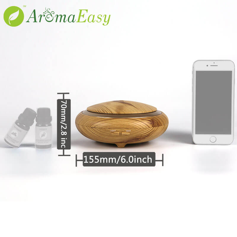 aromatherapy diffuser Size