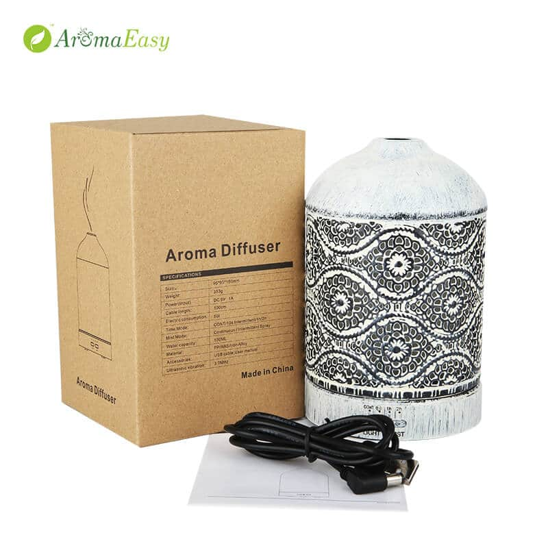 ultrasonic metal touch oil diffuser