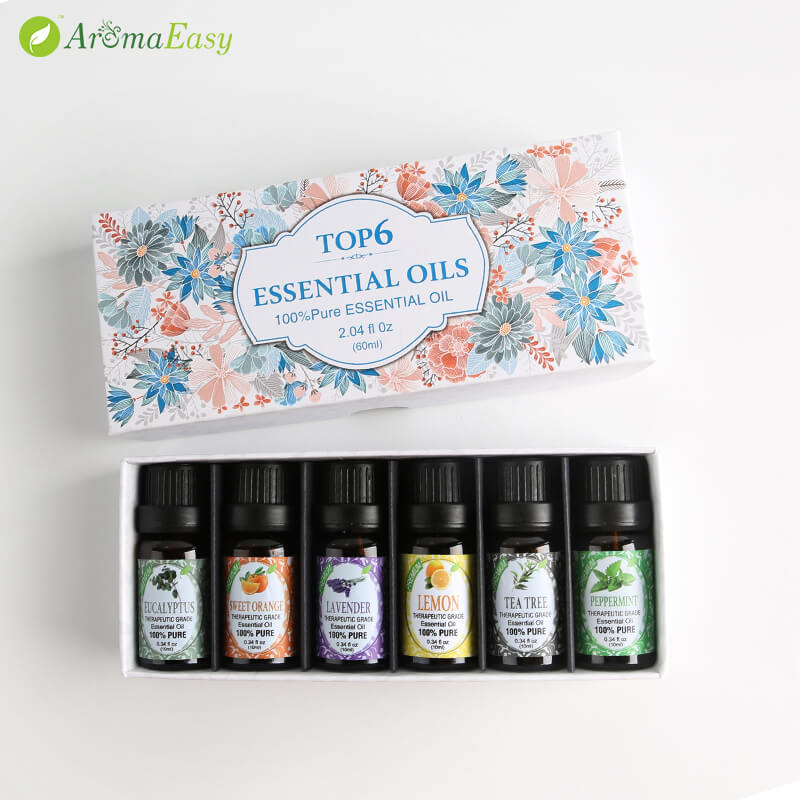 Essential Oil Aromatherapy Starter Kit_V1