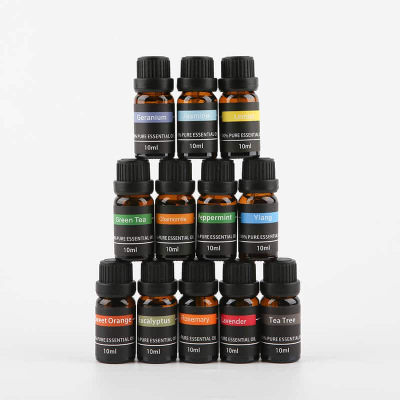 Essential oil kit x 12 bottles