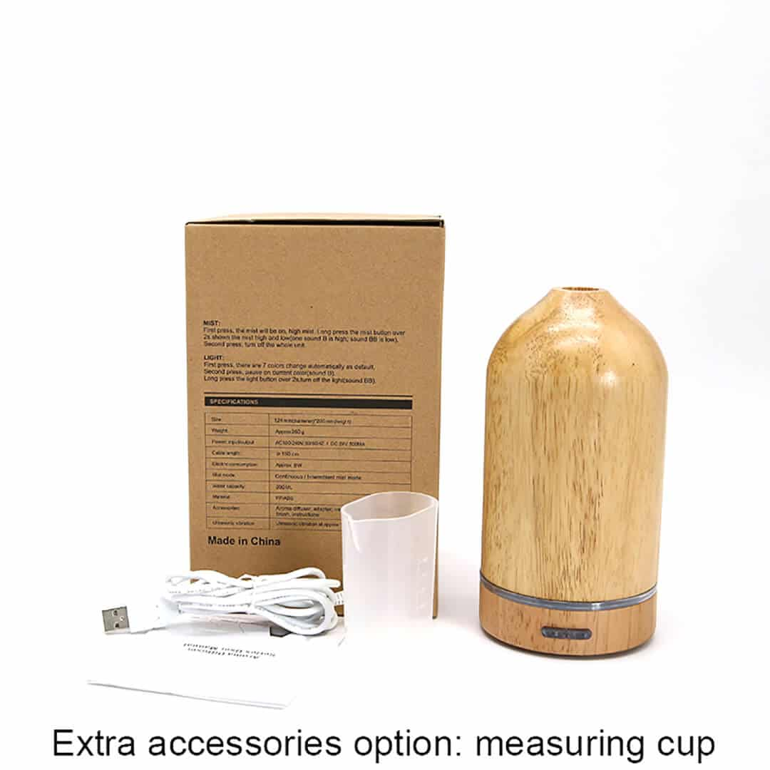 Natura Wooden Ultrasonic Diffuser