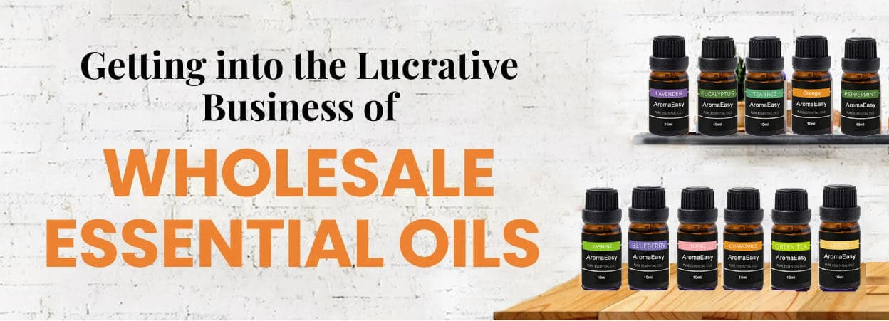 wholesale essential oils-aromaeasy