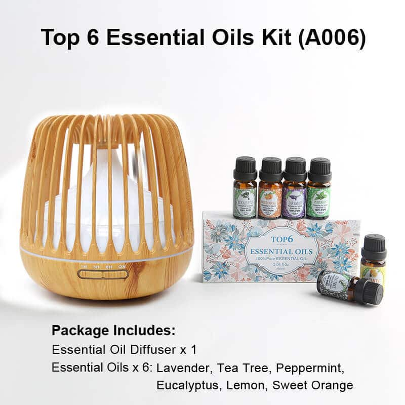 A006 Diffuser Essential oil kits wood