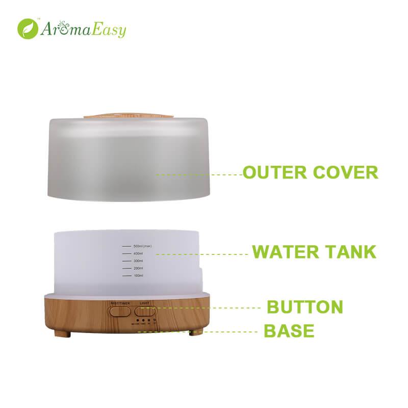LED Lamp Essential Oil Diffuser