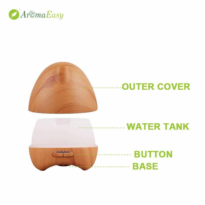 egg shaped wood diffuser