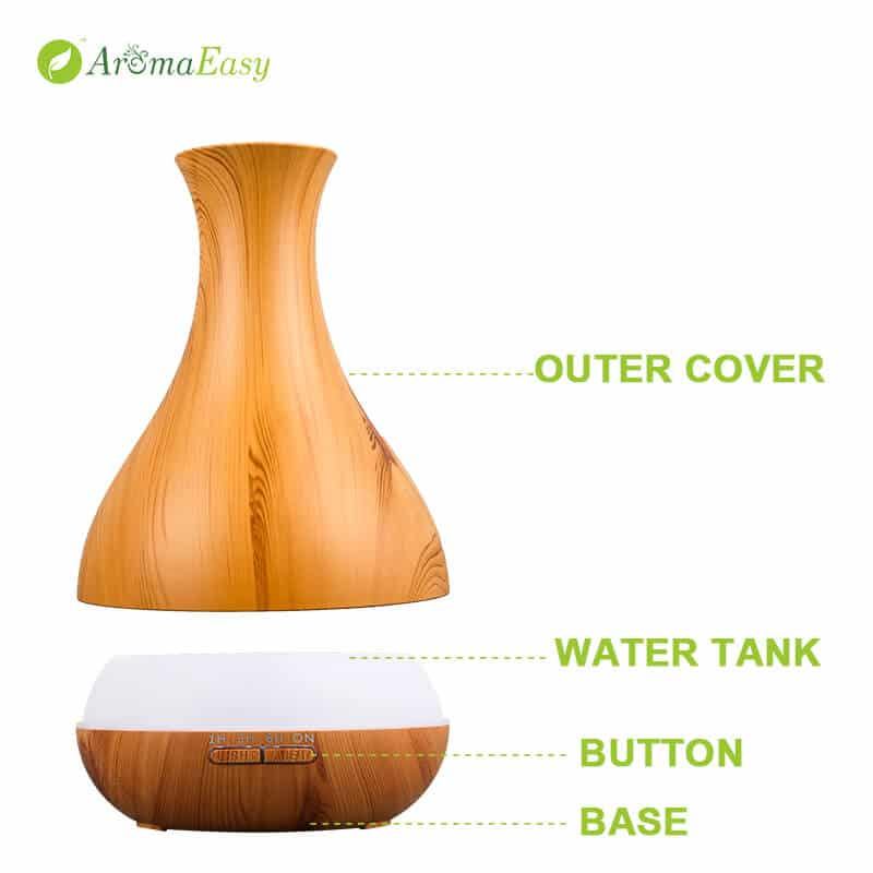 diffusore a forma di vaso