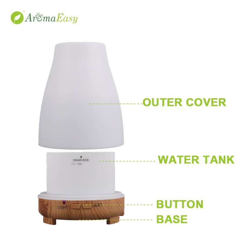 portable LED usb diffuser