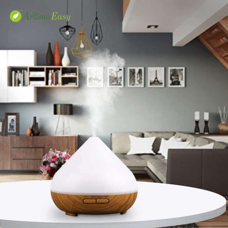 LED ultrasound diffuser