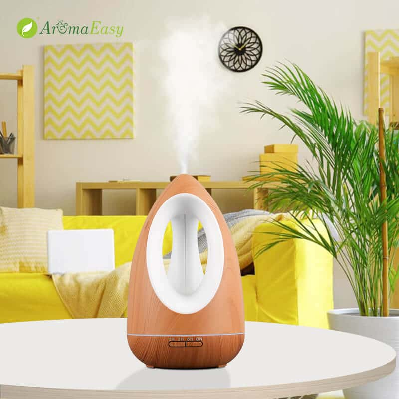led light oil diffuser