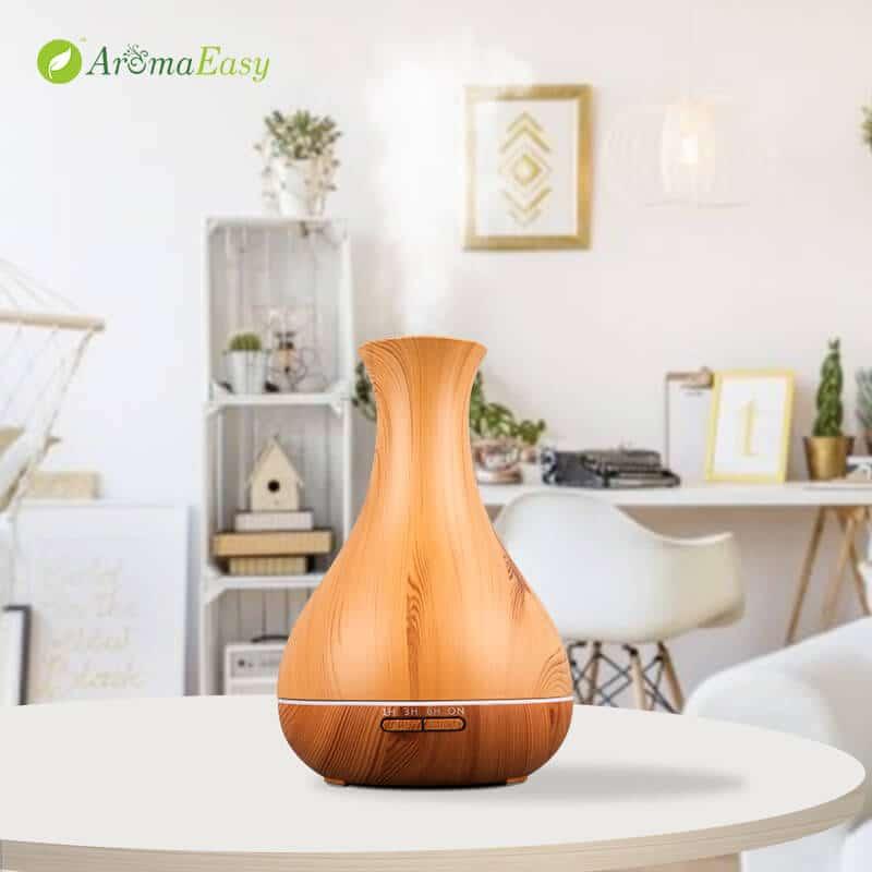 vaso diffusore venature legno