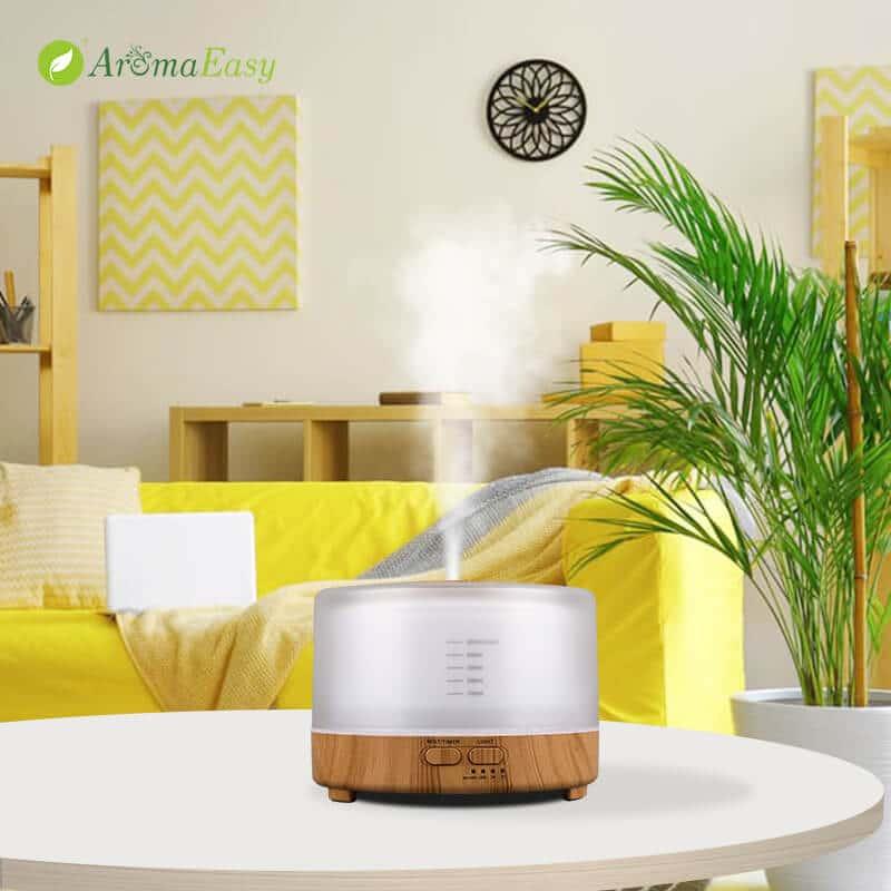 LED wood base diffuser