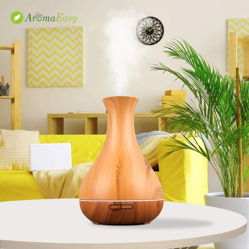 vaso diffusore in legno