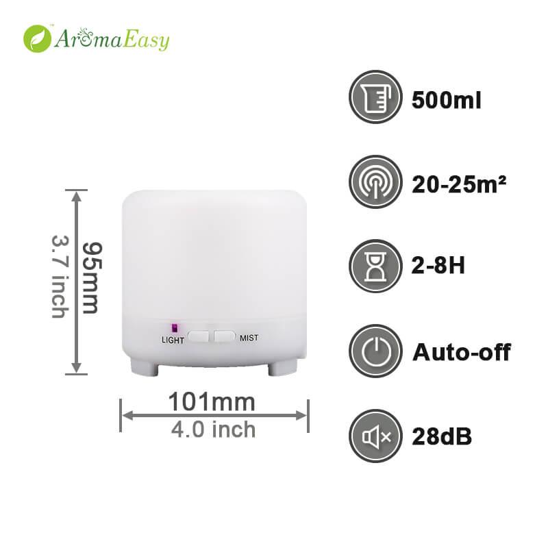 Mini LED portable oil diffuser
