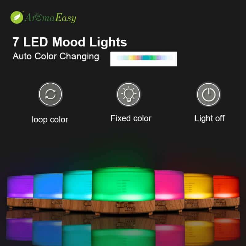7 color LED Oil Diffuser