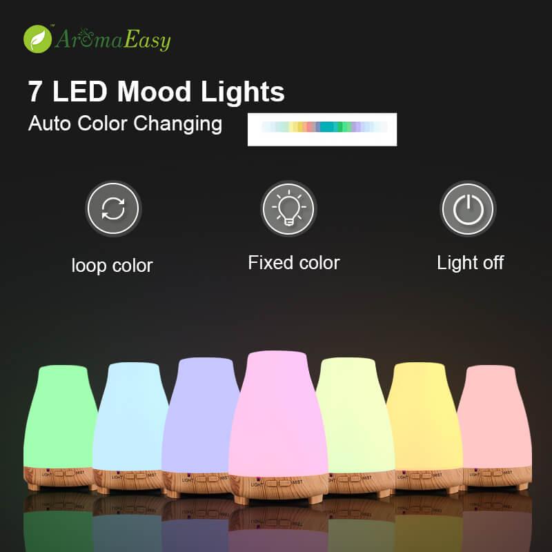 휴대용 LED USB 오일 디퓨저