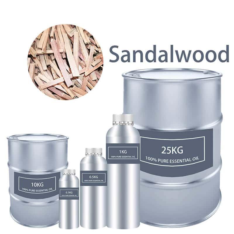Essentiële oalje fan sandelhout