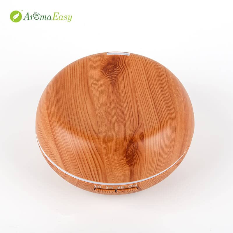 light wood grain oil diffuser