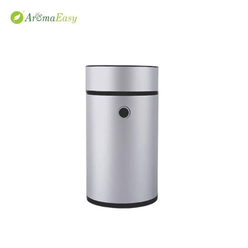 metal aroma diffuser silver