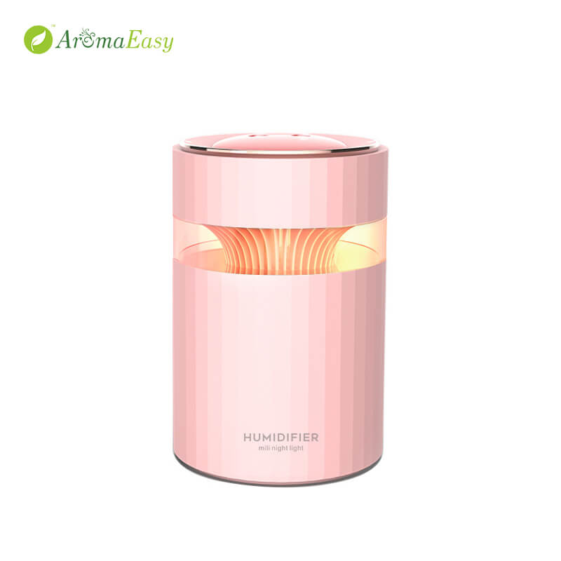 Soothing Glow Cool Mist Humidifier Pink