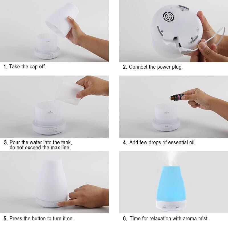LED-Light-Desktop-Essential-Oil-Diffuser-A036-Instructions