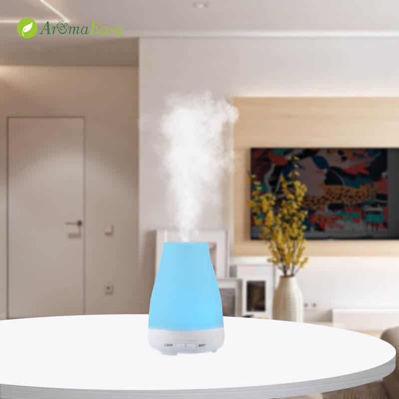 LED desktop essential oil diffuser