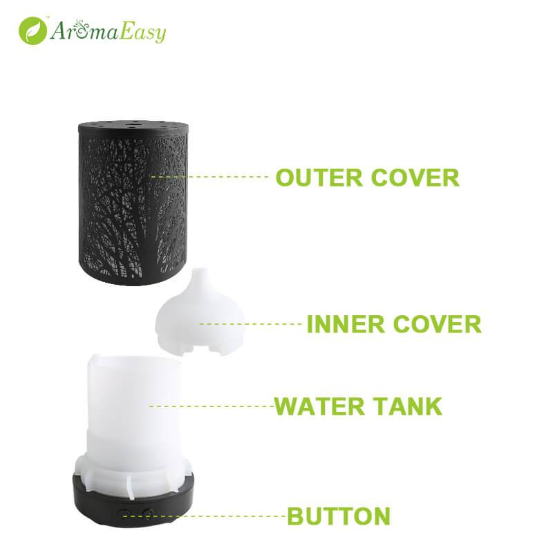 A056_03_metal water tank essential oil diffuser