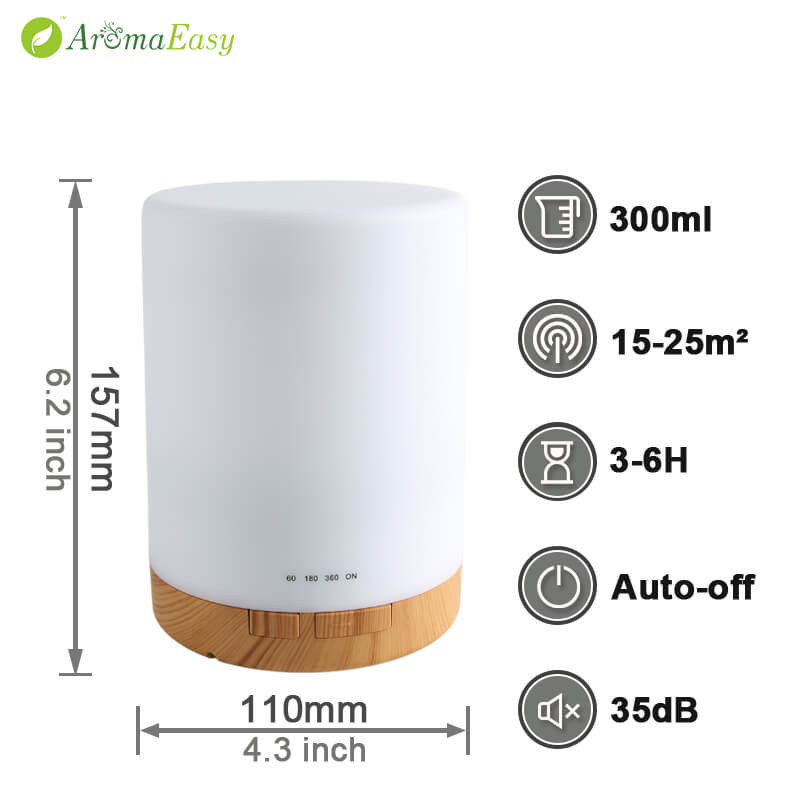 A063-02 ultrasonic air humidifier atomizer aroma diffuser