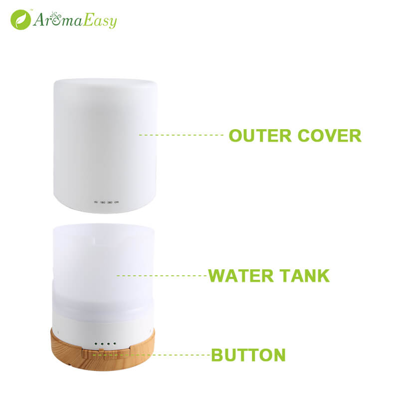 A063-03 ultrasonic aromatherapy air humidifier diffuser with oils