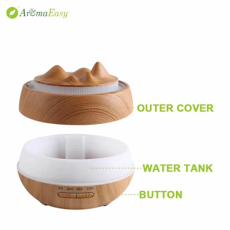 A066-03 Rolling hills ultrasonic essential oil diffuser