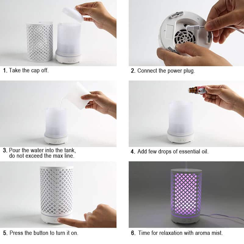 A069-05 ultrasonic essential oil diffuser canada