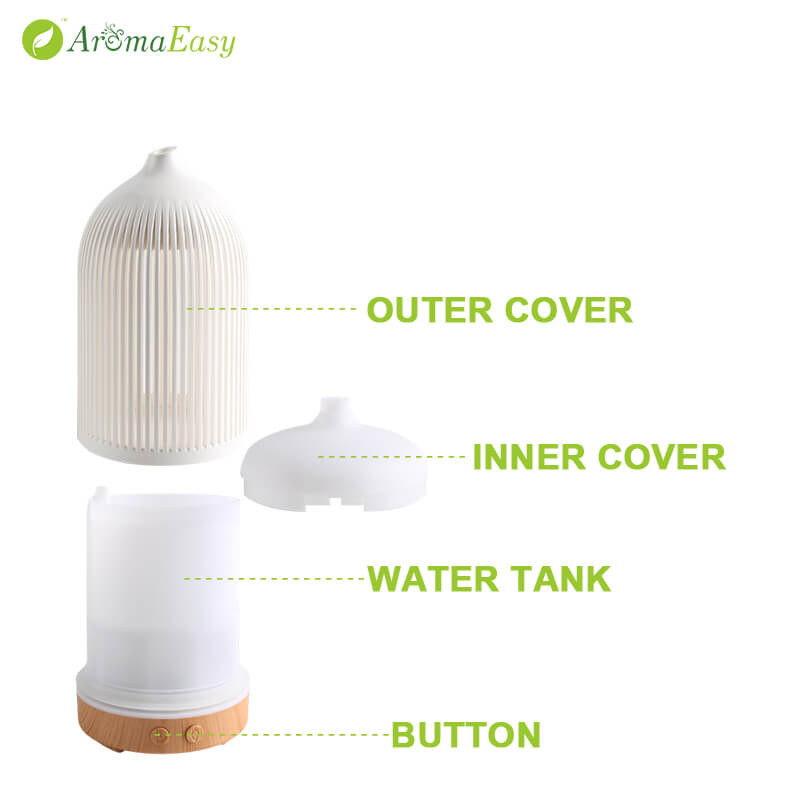 A071-03 500ml aroma essential oil diffuser ultrasonic cool mist humidifier