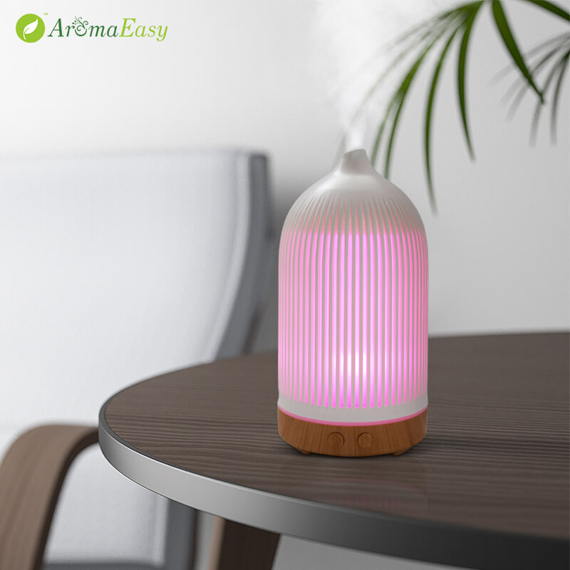 A071-06 essential led oil ultrasonic aroma aromatherapy diffuser air humidifier