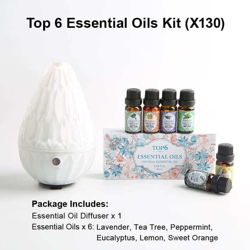 X130 Diffuser Essential oil kits White