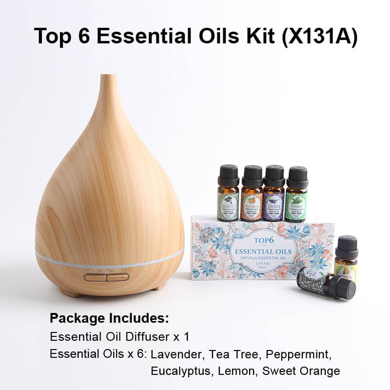 X131A Diffuser Essential oil kits