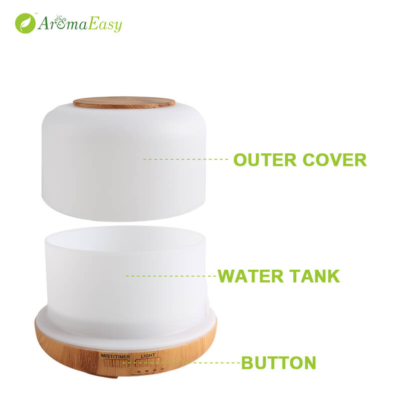 a057-03 opalhouse ultrasonic essential oil diffuser
